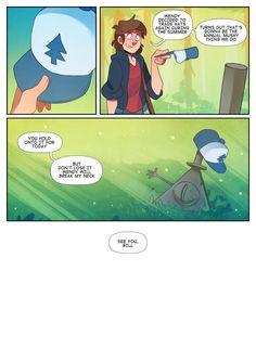 Chikuto tumblr -- Gravity Falls comic page 5