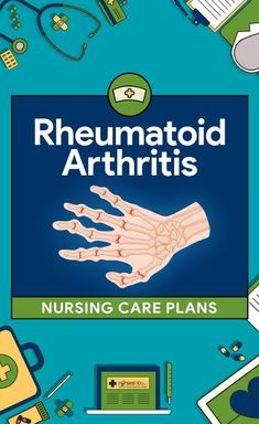 The most common issues that should be address in the nursing care plan for the patient with rheumatoid arthritis (RA) include pain, sleep disturbance, fatigue, altered mood, and limited mobility. The patient with newly diagnosed RA needs information about the disease to make daily self management decisions and to cope with having a chronic disease. Here are six (6) rheumatoid arthritis nursing care plans: Acute Pain Impaired Physical Mobility Disturbed Body Image Self-Care Deficit Risk for…