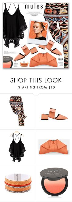 """""""LOVE YOINS"""" by nanawidia ❤ liked on Polyvore featuring NYX"""