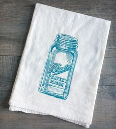 Mason Jar  #Kitchen #Towel   Home Kitchen & Pantry from The Coin Laundry