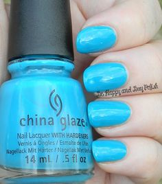 Wait N' Sea: China Glaze Summer 2014 Off Shore collection (partial) by @bhappybuypolish pinned by @Inspirationail #Inspirationail