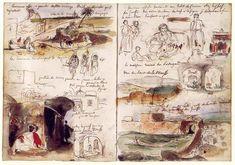 Eugene Delacroix - Anotaciones de Marruecos y Argelia (1832)