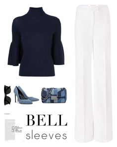 """""""Bell Bell Bell"""" by ch-swisss ❤ liked on Polyvore featuring Diane Von Furstenberg, MICHAEL Michael Kors, Yves Saint Laurent and Ray-Ban"""