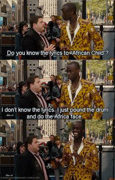 hahah the Africa face