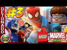 LEGO Marvel Super Heroes Parte #3 Dr Octopus Walkthrough