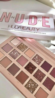 Huda beauty new nude palette Neue Nackt-Palette von Huda Beauty The post Neue Nackt-Palette von Huda Beauty & makeup products appeared first on Make . Huda Beauty Makeup, Beauty Make-up, Beauty Tips, Beauty Hacks, Hair Beauty, Eyeliner, Eyeshadow Makeup, Makeup Cosmetics, Huda Eyeshadow Palette