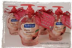It's Written on the Wall: [Freebies} Excellent Teacher Appreciation Gift Ideas : I was Soapin' you'd be my valentine