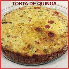 Nutrição e Qualidade de Vida: Torta de Quinoa