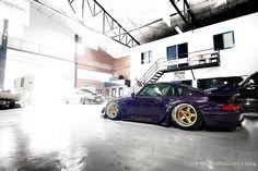 Slammed | 911 | #garage #sportscar #porsche > repinned by www.BlickeDeeler.de