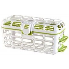 Munchkin Deluxe Dishwasher Basket -- Baby Bottle Accessories / Teats / Nipples Cleaning -- Colors May Vary Small Bottles, Baby Bottles, Dishwasher Basket, Lost Socks, Baby List, Baby Registry, Plastic Laundry Basket, Baby Feeding, New Moms