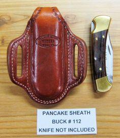 Custom Pancake Sheath for the Buck #112 Folding Hunter Knife