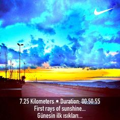 Great FitSnap from running in Istanbul!