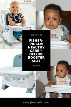 Fisher-Price® Healthy Care™ Deluxe Booster Seat Review