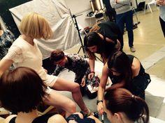 #backstage #photosession #edytaolszówka #star #bielenda #cosmetics #makeup #schoolofmakeup