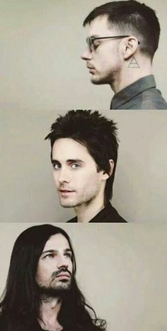 Thirty seconds to mars, Jared Leto, Tomo Milicevic, Shannon Leto