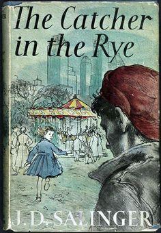 """Vintage 1951   Catcher in the Rye   """"Bom mesmo é o livro que quando a gente acaba de ler fica querendo ser um grande amigo do autor, para se poder telefonar para ele toda vez que der vontade."""", Holden"""
