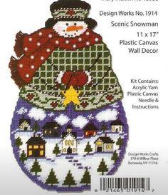 Scenic Snowman 1 of 7