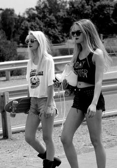 longboard & rollerblade  #hipsta #swag