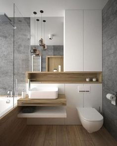 Luxury Bathroom Ideas is extremely important for your home. Whether you pick the Luxury Bathroom Master Baths Marble Counters or Luxury Bathroom Master Baths Wet Rooms, you will create the best Small Bathroom Decorating Ideas for your own life. Bathroom Layout, Modern Bathroom Design, Bathroom Interior Design, Bathroom Small, Bath Design, Modern Bathtub, Washroom Design, Bathroom Mirrors, Simple Bathroom