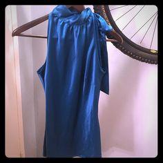 Silk blouse by Worthington size 4 Ribbon tie @ neck excellent condition Worthington Tops Blouses