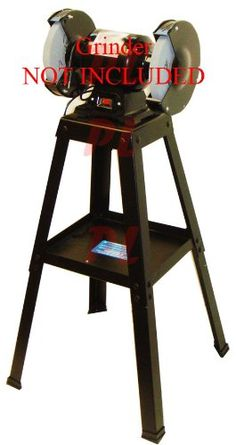 Brand New Pit Bull Bench Grinder Stand Powder Coated to Resist Rust