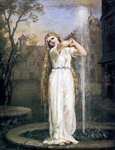 Undine - John William Waterhouse 1872