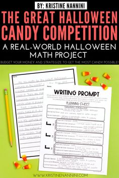 Looking for a fun Halloween math project? The Great Halloween Candy Competition is a real-world PBL activity requiring math and critical thinking skills. Halloween Math, Halloween Activities, Halloween Candy, 5th Grade Classroom, Middle School Classroom, Special Education Teacher, My Teacher, Math Competition, Math Projects