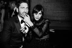 gerard butler & alexa chung, 2013 met gala after party