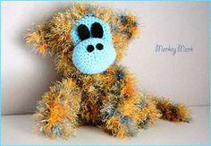 El edén de las mamalidades. Monkey Monk. Amigurumi.