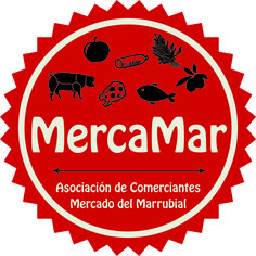 Diseño nuevo logo realizado para la asociación MercaMar