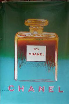 From our favorite vintage poster shop in Chelsea!! -- Chanel No. 5