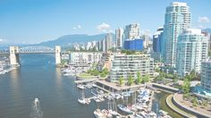 Beautiful view of Vancouver, British Columbia, Canada - Stock Photo , British Columbia, Cool Places To Visit, Places To Go, Toronto, Vancouver Travel, Rocky Shore, Most Beautiful Cities, Beautiful Scenery, Travel Deals