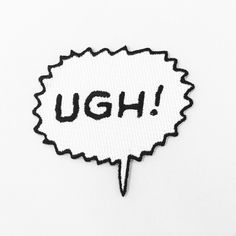 Image of Ugh! Patch Preorder