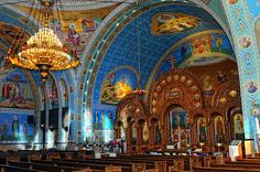 Beautiful Blue Interior