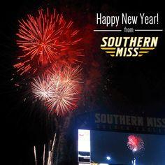 Happy New Year! #SMTTT - southernmissathletics's photo on Instagram