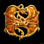 Bronze Thick Dragon Bracelet $55.00 from http://www.celticattic.com/jewelry/celtic/copper_jewelry.htm
