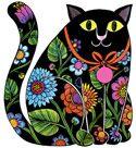 Cat graphic by Jan Pienkowski