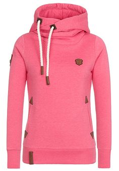 naketano Darth VIII - Kapuzenpullover für Damen - Pink - Planet Sports