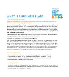 small business plan templates 18 free printable word pdf business plan outline