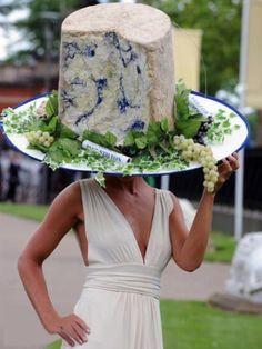 Stilton chapeau. #fashion #hats #chapeaux #whatthefuck