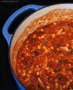 Southwestern Chicken Tortilla Soup with Classico Tomatoes #CookClassico