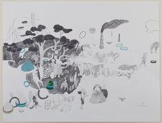 Hélène Duclos- Etude de cas #3 - mine graphite - 50 x 65 cm