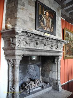 existing Castle fireplace - Google Search