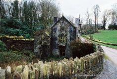 Abandoned Gate Lodge to the Bellmount House, County Cork