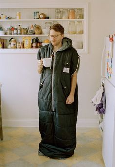 Poler Nap Sack Wearable Sleeping Bag: when the office is really cold