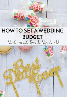 strategies creating realistic wedding budget