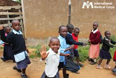 March 7: A friendly wave from Kenya.  Photo: Lindsay Lange, International Medical Corps, Kenya 2012