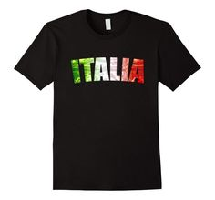 Italy Italian Flag Italia Maglietta T-Shirt