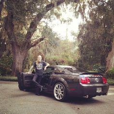 Gregg at his home in Savannah, Georgia