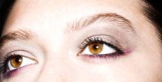 @Byrdie Beauty - The contrasting eye, a nod to the look Tom Pecheux created at Altuzarra's fall show, is surprisingly easy to wear.